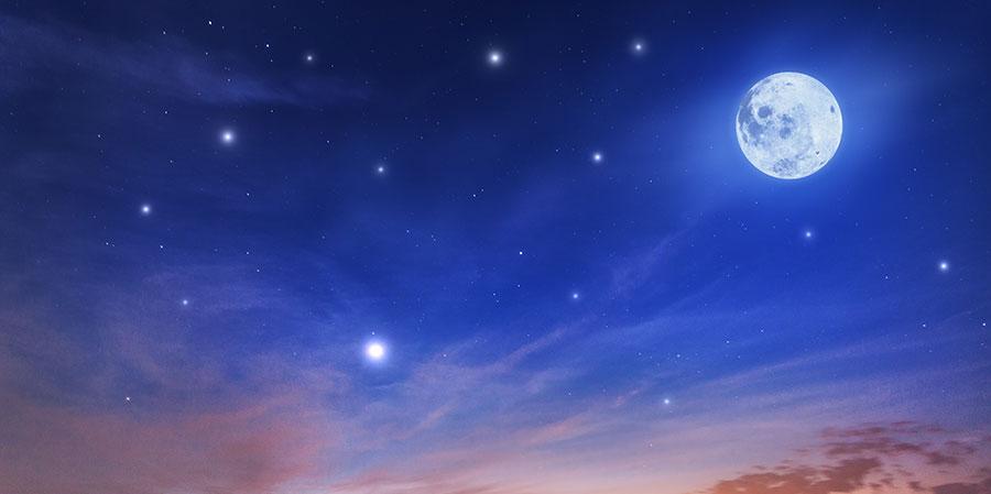 Nieuwe Maan in Boogschutter