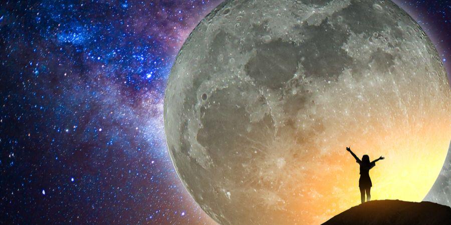 Volle Maan op 5 juni 2020
